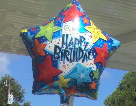 First Baptist Church Ellenton Birthday Balloon